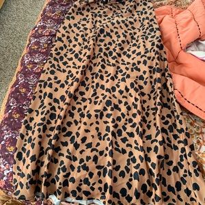 Urban outfitters cheetah skirt